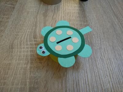 Gut bekannt Spardose: Schildkröte   Basteln mit Andrea LB79
